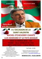 Saint Valentin avec Michel Etcheverry