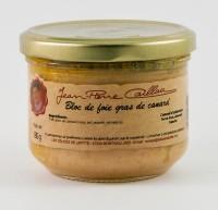 Bloc de foie gras de canard, bocal 130g
