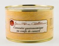 Cassoulet gastronomique au confit de canard, bocal 1.4kg