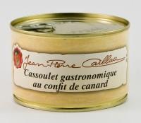 Cassoulet au confit de canard, boîte 420g