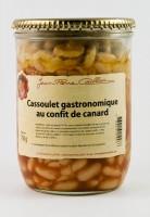 Cassoulet gastronomique au confit de canard, bocal 750g