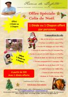 Offre spéciale Colis de Noël