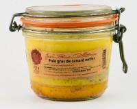 Foie gras de canard entier, bocal 425g
