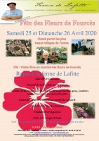 Fête des fleurs à Fourcès