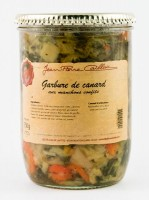 Garbure de canard aux manchons confits, bocal 750g